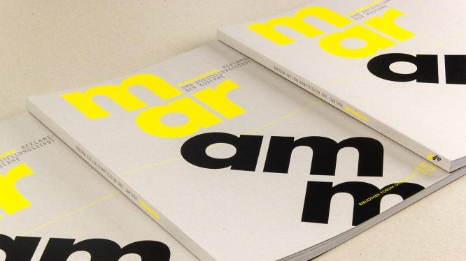 »maramm« – Journal über moderne Reklame