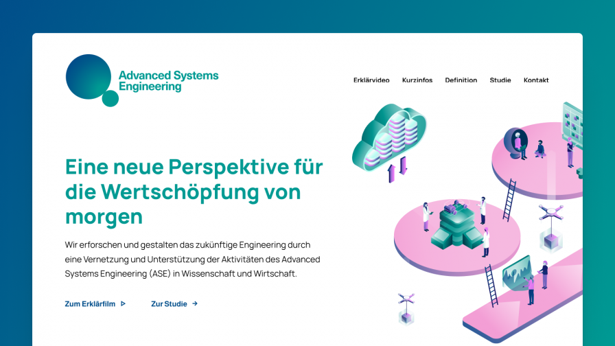 Wissenschaftskommunikation für Fraunhofer › Advanced Systems Engineering